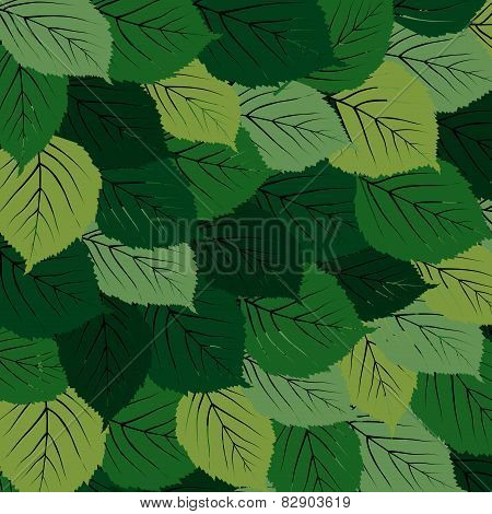 Green Leaves Carpet