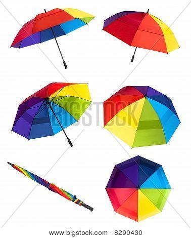 Colorful Imbrellas