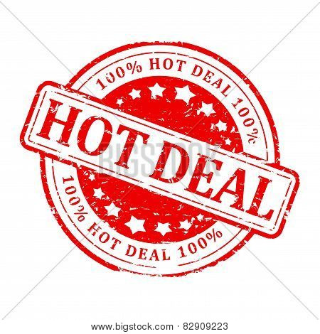 Red Stamp - Hot Deal