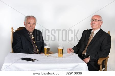 Two Senior Men