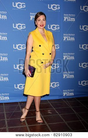 SANTA BARBARA - JAN 27:  Fabiola Beracasa at the Santa Barbara International Film Festival - US Premiere of