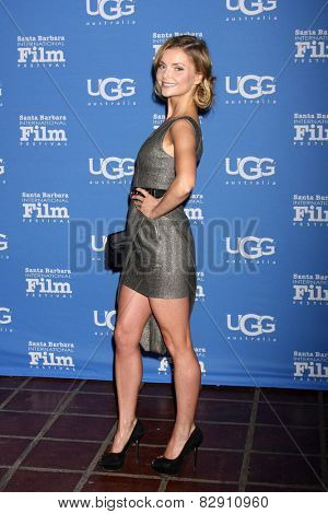 SANTA BARBARA - JAN 27:  Izabella Miko at the Santa Barbara International Film Festival - US Premiere of