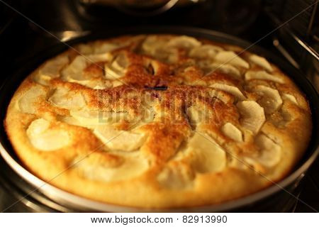 Cooking Of Apple Pie