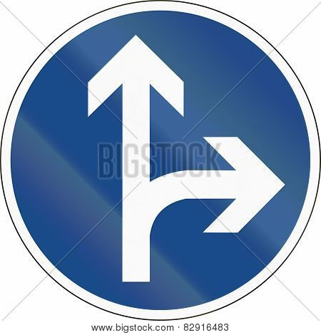 Go Straight Or Right