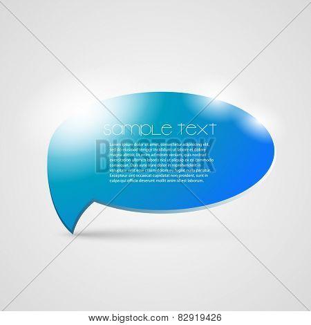 Speech Bubble Design Template