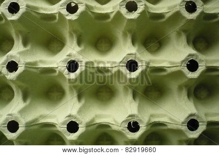 Cardboard box for eggs - background