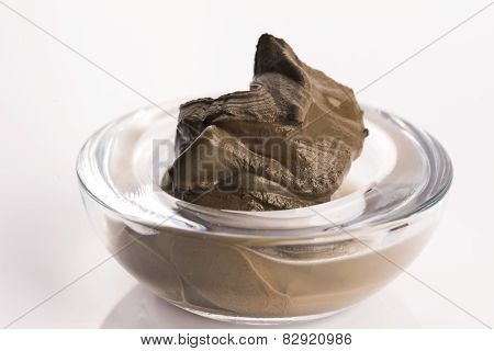Dead Sea Mud In A Bowl