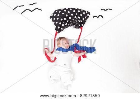 Baby With Parabrake