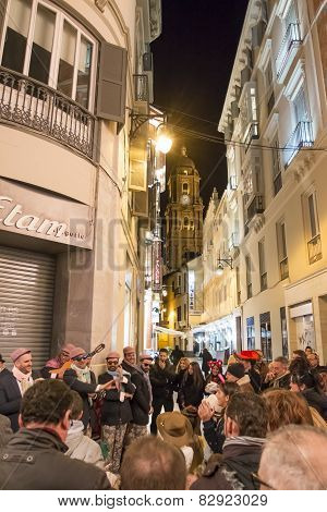 Carnival In Malaga