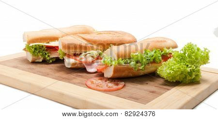 Big french sandwich