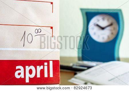 Missed schedule