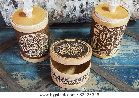 products from birch bark