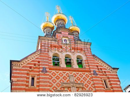 Denmark. Copenhagen. The Alexander Nevsky Church