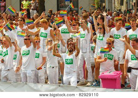 Amsterdam  Gay Pride 2014.