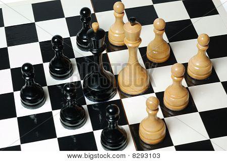 Chess: standoff kings