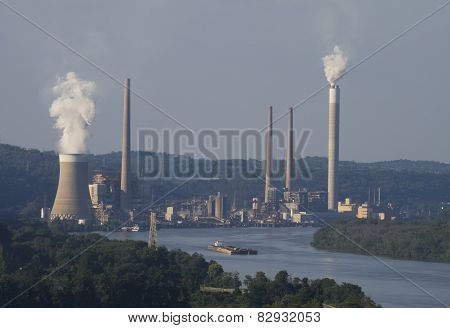 Coal Fired Electricity Power Plant
