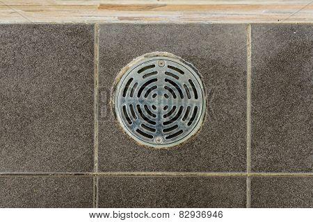 Metal Drain Hole