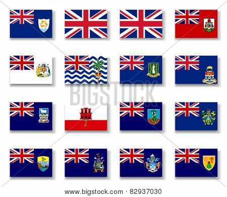 British Overseas Territories, Flag Collection