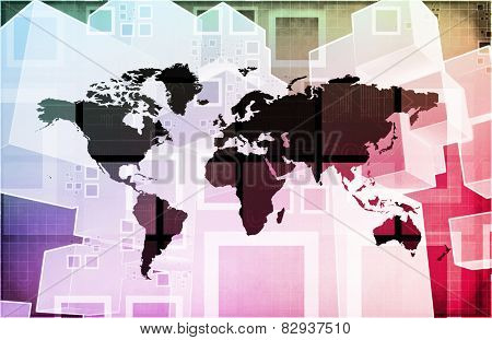 Global Import Export Business as a Presentation Art