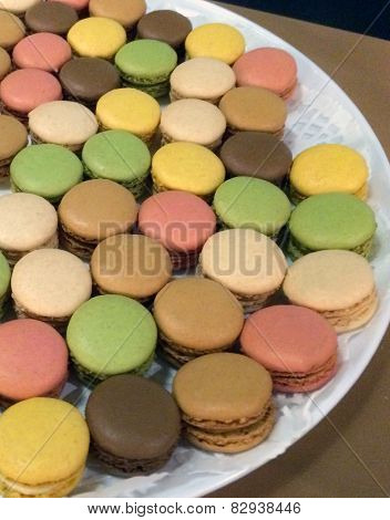 Colorful Macaroon Cookies