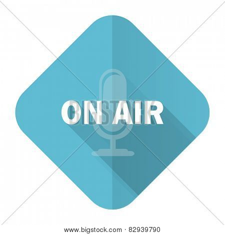 on air flat icon