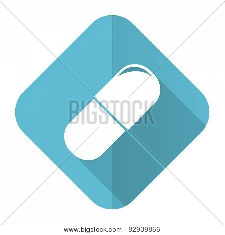 drugs flat icon medical sign