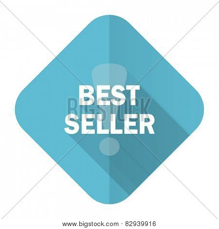 best seller flat icon