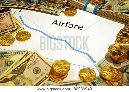 airfare falling down