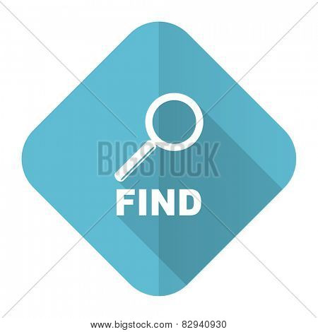 find flat icon