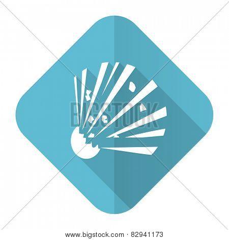 bomb flat icon