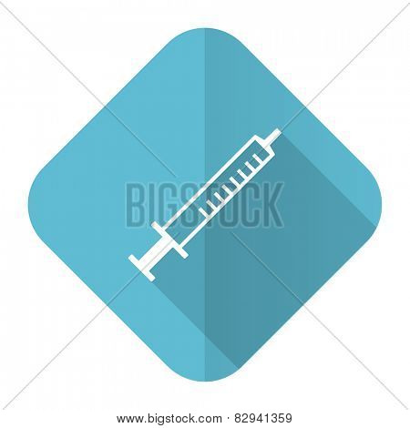 medicine flat icon syringe sign