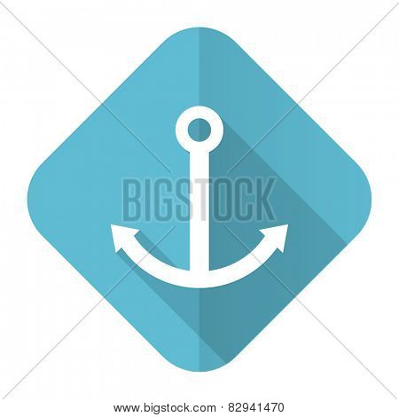 anchor flat icon sail sign