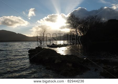 Lough Leane Lake At Killarney