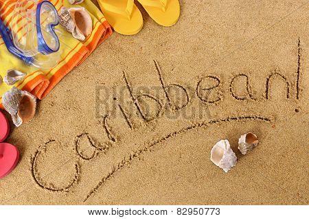 Caribbean Beach Background