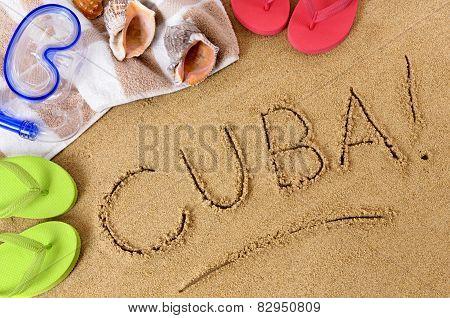 Cuba Beach Background