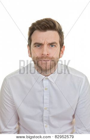 surprise astonishment shocked man mouth open