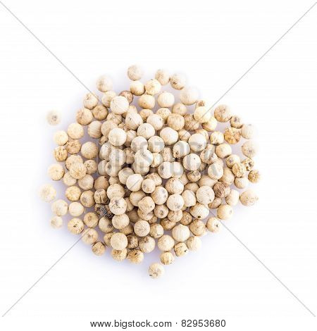White Pepper Isolated
