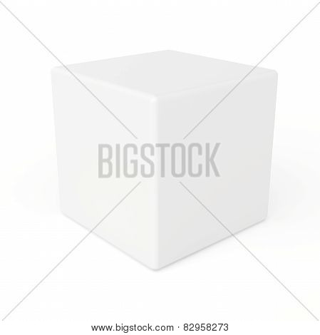 cube isolated on white background
