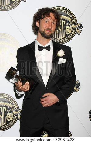 LOS ANGELES - FEB 15:  Peter Flickenberg at the 2015 American Society of Cinematographers Awards at a Century Plaza Hotel on February 15, 2015 in Century City, CA