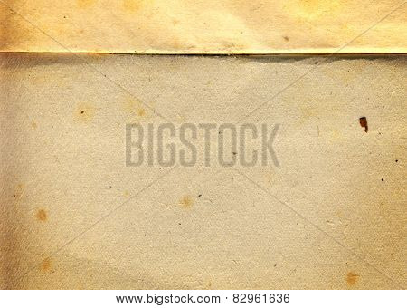 vintage grunge rusty stained damaged paper design with space for text or image