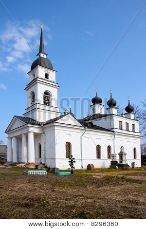 "Church in Kobona Russia was from here begun ""Lifeline "" in this church Resident of Blockaded Leningr"