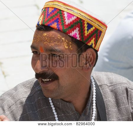 A brahmin priest