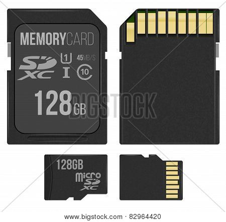 SD and microSD