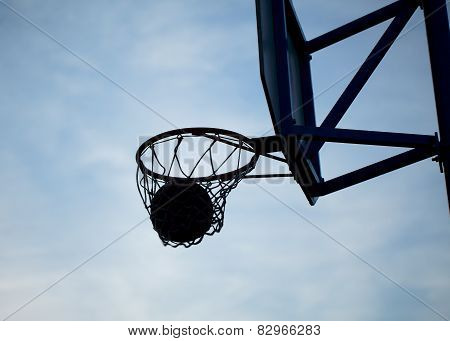 street basketball hoops