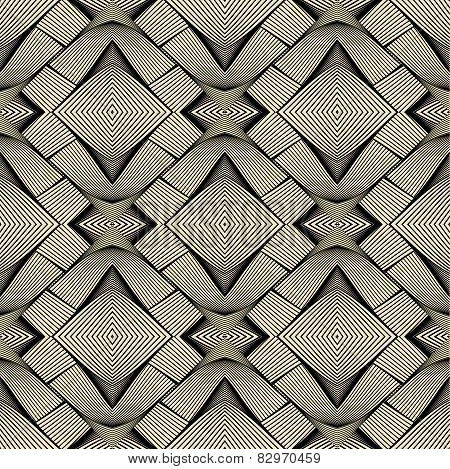 Vector seamless pattern. Repeating geometric texture