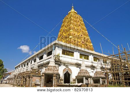Bodhgaya Golden And Blue