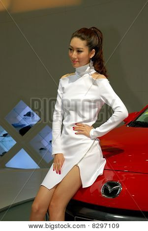 Chinese Carshow Model
