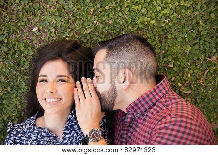 Woman Hearing A Secret