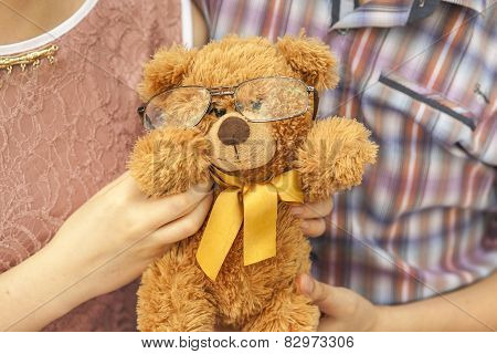 Bear With Glasses