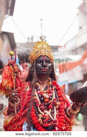 Devotee of Kali